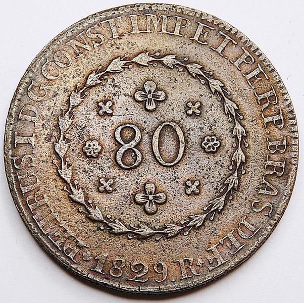 Moeda-Brasil-Império-80-Réis-1829-Rio-Cobre-D.Pedro-I