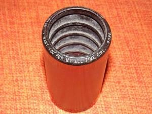 Cilindro de Cera Edison do CEMIP