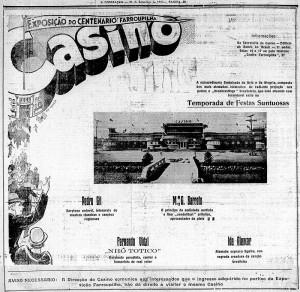 Propaganda_Anúncio_Cassino_Centenário_Farroupilha(Jornal_A_Federação)_1935
